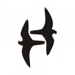 Ptáci - antikolizní nálepky 3 ks