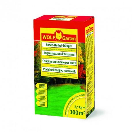 Trávníkové hnojivo podzimní LK-MU 100 WOLF-Garten - 2,5 kg