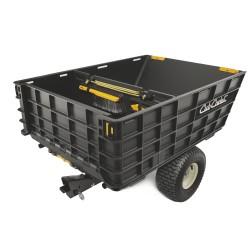 Přívěsný vozík k zahradním traktorům